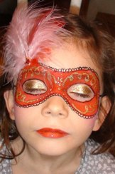 Maquillage carnaval Venise
